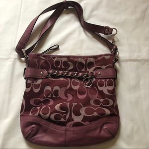 Auth Coach Shoulder Bag